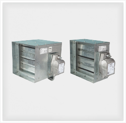 Products kad air conditioning for Motorized smoke fire damper
