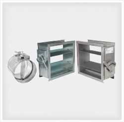 Air Volume Control Dampers Manufacturer in Dubai, UAE: KAD